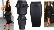 Unbranded Patternless Party Plus Size Skirts for Women