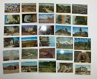 Lot of 62 Unused Un-mailed American West postcards: Most 1930s -1960s