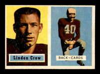 1957 Topps #91 Lindon Crow DP EX/EX+ X1647470