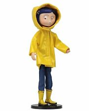 Coraline Bendy Doll Raincoats & BOOTS 18 Cm NECA Action Figures