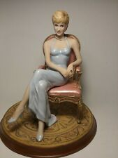 Franklin Mint Forever Diana Limited Edition Kaufman Hand Painted Statue Figurine