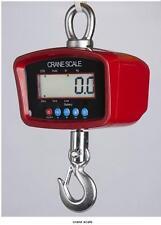 PS-CR-M Heavy Duty Crane Scale | Hanging Scale Swivel Hook, 500X0.1 LB,Brand New