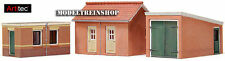 Artitec HO #10.116 Two Sheds and Garage - Building Kit 10116