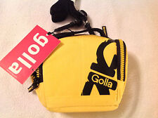 Camera Case. Golla. Brand New. Yellow with Black inside. Bill CG1114