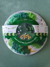 Celebrate it. St. Patrick's Day. Party Platter 487pc Craft set.Free Shipping new