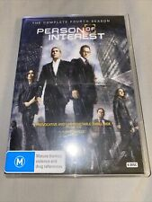 Person of Interest DVD Boxset The Complete Fourth Season Series 4 Region 4