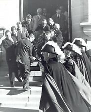 1962 Vintage Photo St. Mary's Church funeral of Wyoming Senator Joseph O'Mahoney