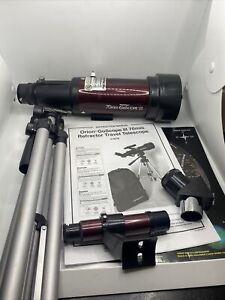 Orion 10034 GoScope II kit de telescópio para viagem com refrator de 70 mm