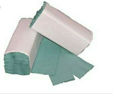 *Green C Fold Paper Hand Towels - 23 x 33cm - 1 Ply Box Quantity 2688 -  (PP100)