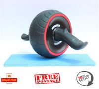 Ab Roller Exercise Training Wheel Gym Fitness Body Strength Abdominal Carver UK