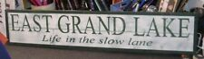 6FT Rustic Custom LARGE Lake Wood Sign PERSONALIZED huge! Custom colors & words