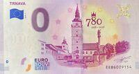 BILLET 0  EURO TRAVNA SLOVAQUIE  2018  NUMERO DIVERS
