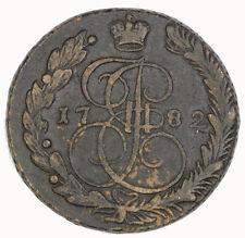 1782 Russia EM 5 Kopeks Coin