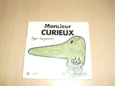 """Monsieur CURIEUX   Roger Hargreaves Collection """"Bonhomme"""""""