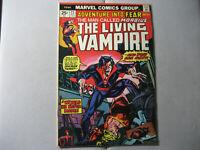Adventure Into Fear #23 Morbius The Living Vampire (1974 Marvel) Missing MVS