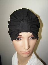 CHEMO/ CANCER /ALOPECIA COTTON  KNIT JERSEY TURBAN /WRAP / HAT CAP FOR HAIR LOSS
