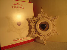 """Hallmark Ornament 2013 """"Associate Gift[ONLY]"""" """"SNOW"""" ONE LIKE YOU!~Limited Edtn"""