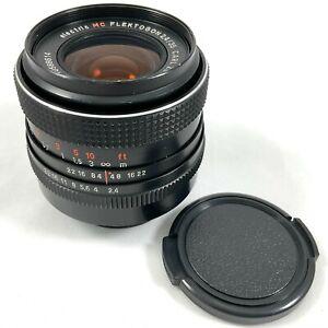 Carl Zeiss Jena DDR Electric Flektogon MC 35mm f/2.4 M42 Mount Prime Lens (614)