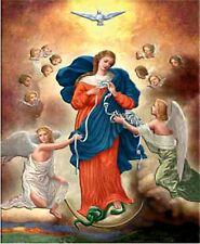 Mary, Our Lady Untier (Undoer) of Knots 8x10 Print suitable for Framing NEW