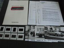 VOLVO gamme printemps brochure dossier de presse media press kit - édition 1994