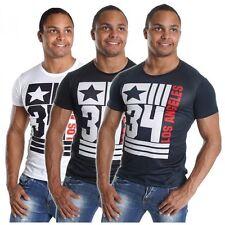 Markenlose figurbetonte Herren-T-Shirts