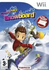 FAMILY SKI & SNOWBOARD NINTENDO WII UK PAL GAME **COMPLETE - FREE FAST P&P**