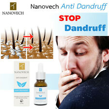 Nanovech Anti-Dandruff serum for treatment Scalp Itchy Dry 0.5 oz Natural 100%