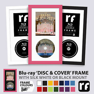 Blu-ray Frame Film Game DISC & COVER Wood Colours Black White Picture FRAMES