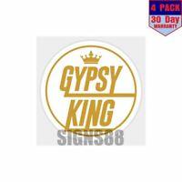 Tyson Fury 4 pack 4x4 Inch Sticker Decal