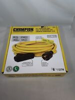 Champion 25 ft Generator Cable 10 Gauge 30 Amps 125 Volts 3750 Watts