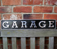 GARAGE sign garage cast sign LARGE aluminium garage mancave shed workshop VAC140