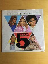"5 Star - System Addict - 12"" Vinyl Single - PT40516 1985"