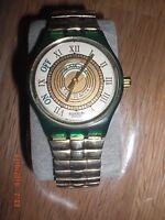 schöne Damen Armbanduhr Swatch Musicall mit Alarm- und Weckfunktion Martingala