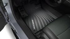 Genuine OEM Honda 18-21 Accord 4DR Black All Season High Wall Floor Mat Set Mats
