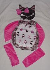 EUC Princess Paradise Girls Emily The OWL Plush Halloween Costume 12-18 M