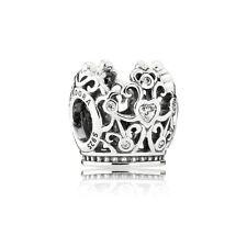 Authentic Pandora Charm Disney Princess Crown Clear CZ 791580CZ