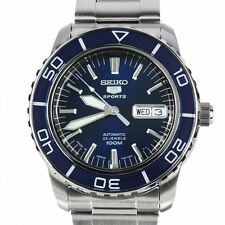 SEIKO 5 SPORTS SNZH53J1 Men's Navy Blue Dial Men's Divers Watch From Japan