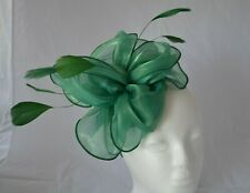 Pretty Green Headband Hat Fascinator Weddings Ladies Day Race Royal Ascot