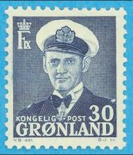 Greenland 33 Mint Hinged Og * No Faults Extra Fine !