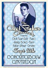 Chet Baker 1955 Concertgebouw Amsterdam 17x24 inch re-print Beautiful