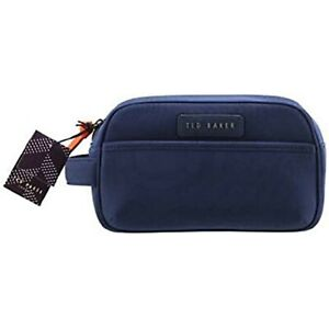 TED BAKER Large Mens Wash Bag Navy Blue Brand New With Tag
