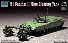 Trumpeter m1 Panther II 2 miniera clearing TANK CARRO ARMATO 1:72 KIT KIT 07280