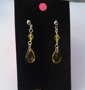 handmade drop earrings lady girls stud style christmas gift/stocking -