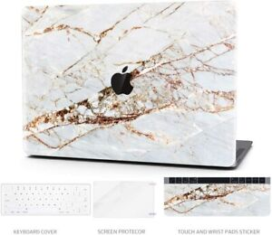 Hard Case Compatible with MacBook Pro 13 Inch – Marble Laptop Case with K