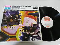 "THE MOODY BLUES DAYS OF FUTURE PASSED 1981 SPAIN ED VG/VG LP VINYL VINYL 12"""