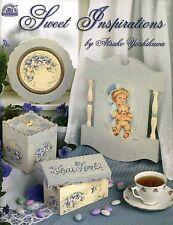 Sweet Inspirations Decorative Tole Painting Book by Atsuko Yoshikawa NEW