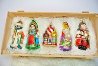 Kurt Adler Polonaise Russian Collection Ornaments, Set of 5