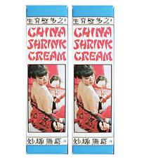 China Shrink Cream 2 Piece Combo Pack
