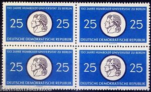 Seal of Humbolt University Berlin, The Entity of Sciences, Germany 1960 MNH Blk