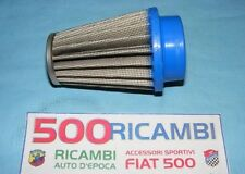 FIAT 500 F/L/R 126 FILTRO ARIA SPORTIVO CONICO CARBURATORE WEBER 26 IMB O 28 IMB